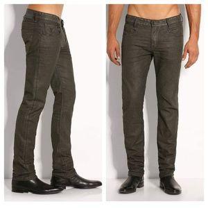 GUESS Alameda Slim Straight Coated Jeans sz 32